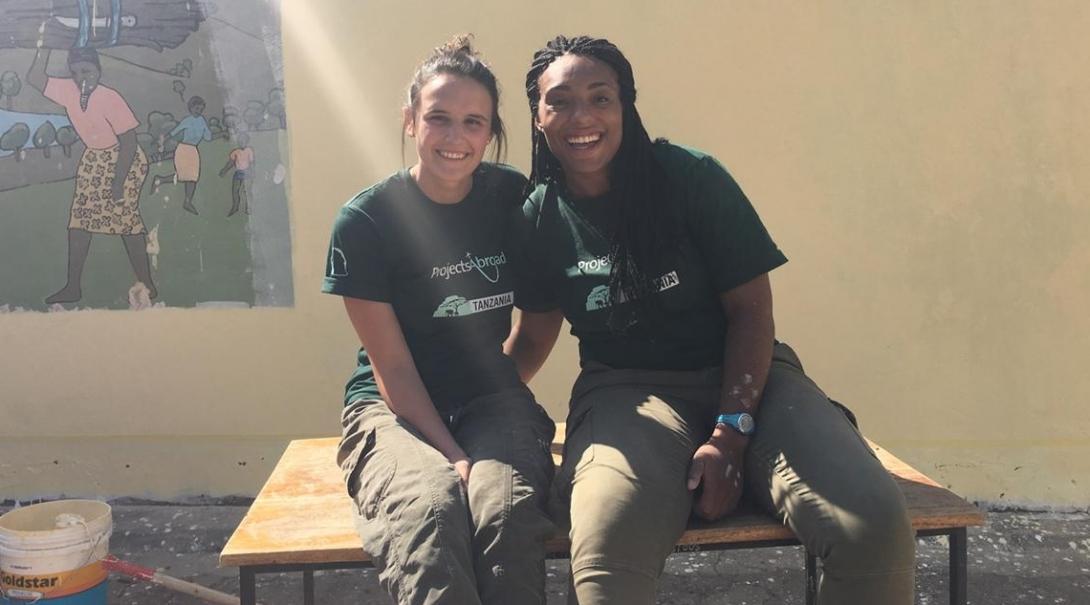 Abby T in Tanzania